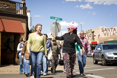 Santa Fe Restaurant Walking Tour with Chefs http://santafeschoolofcooking.com/Restaurant_Tours/index.html http://santafeschoolofcooking.com/Restaurant_Tours/index.html