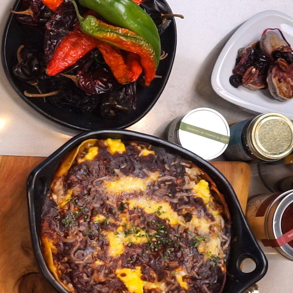 Huevos Rancheros and Blue Corn Pancakes are Southwest Brunch Ideas with Chef Allen Smith