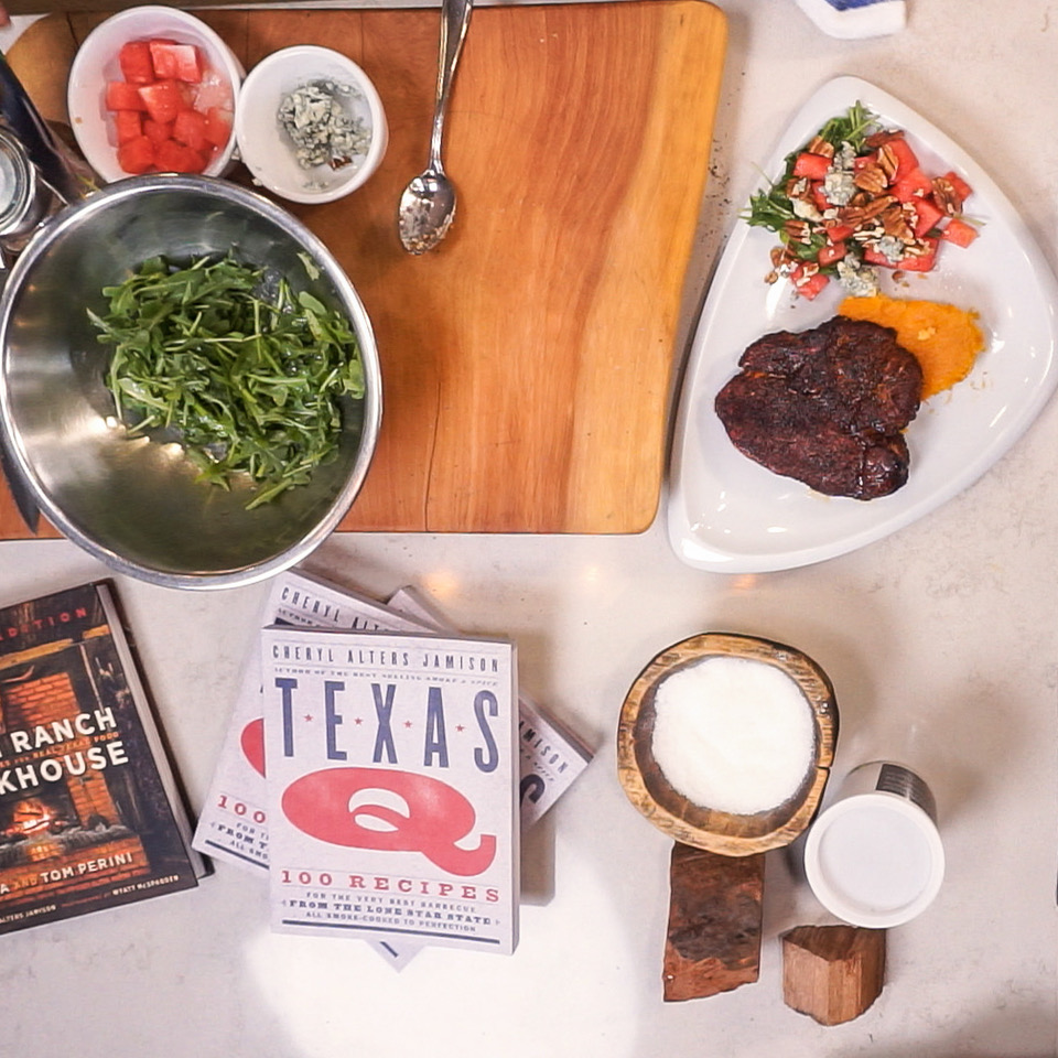 BBQ fun with James Beard Award Winning Cookbook Author Cheryl Alters Jamison