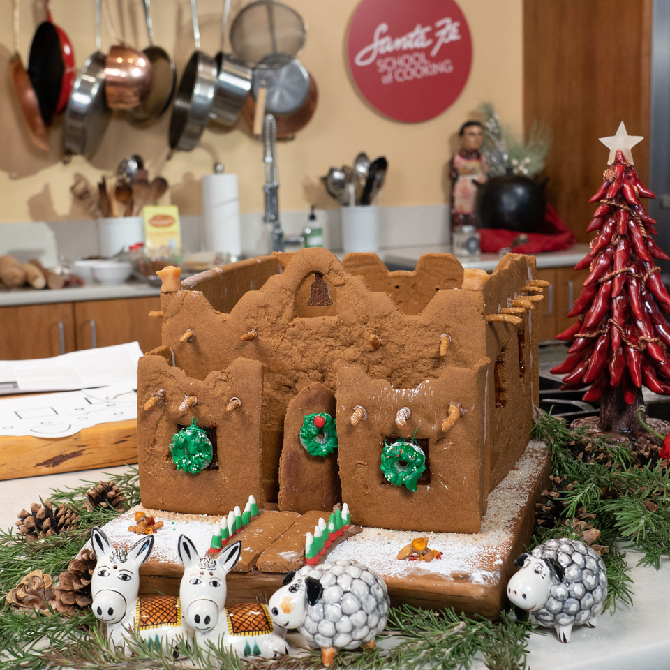 Build an Adobe Gingerbread House with Chef Allen Smith