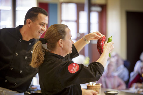 Our Chefs Sharing Their Skills  http://santafeschoolofcooking.com/Cooking_Classes/Demonstration_Classes/index.html http://santafeschoolofcooking.com/Cooking_Classes/Demonstration_Classes/index.html