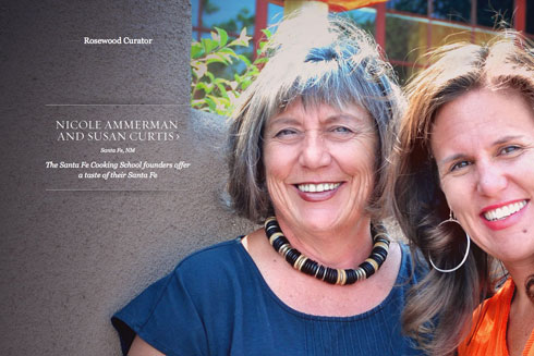 Susan & Nicole are Rosewood Inn of the Anasazi Curators