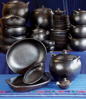 La Chamba Black Clay Pottery