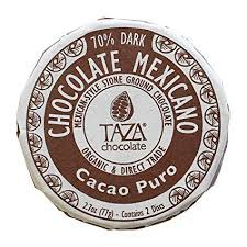 Taza Chocolate Discs