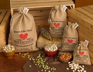 Heart of the Desert Pistachios, 1 Pound Bags
