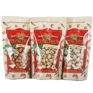 Heart of the Desert Pistachios, 1/2 Pound Bags