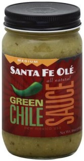 Santa Fe Ole Medium Green Chile Sauce